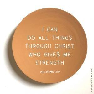 bijbelteks op bamboebord terra Filippenzen 4:13