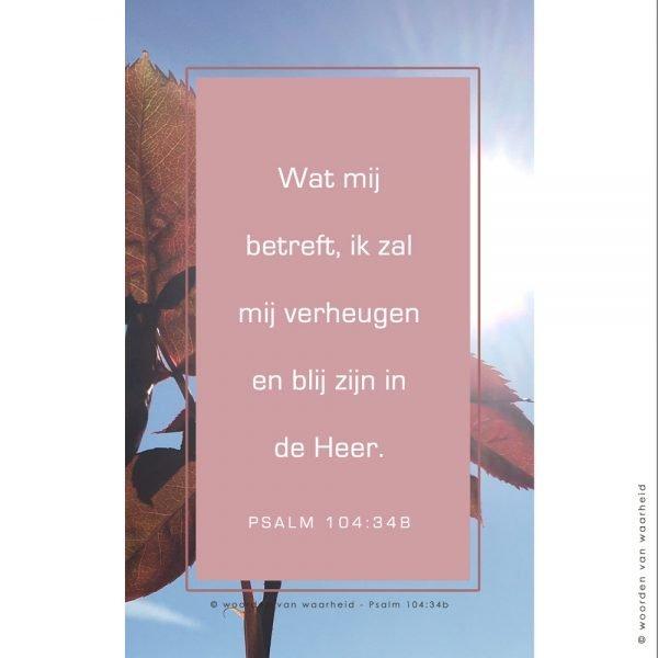 Wallpaper Psalm 104-34b download woordenvanwaarheid christelijke teksten op hout
