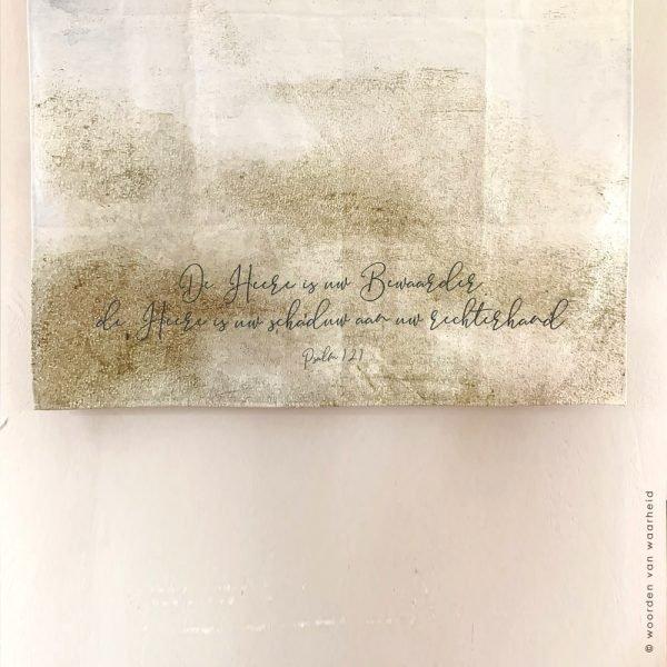 Groot Wandkleed Exclusive Psalm 121 2 christelijke tekst op wandkleed woordenvanwaarheid