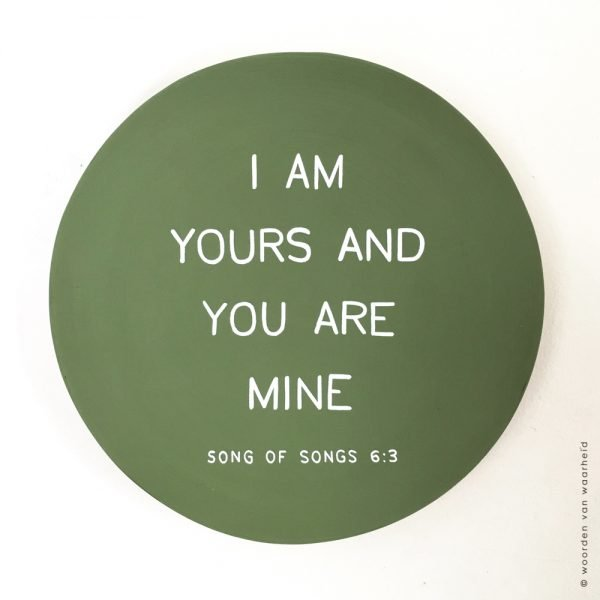 Song of songs 6-3 1 christelijke tekst op hout plank bijbeltekst woordenvanwaarheid