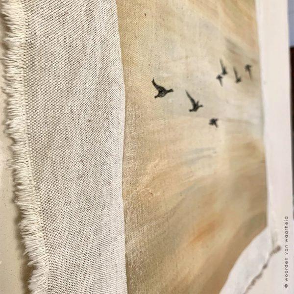 Wandkleed Vogels 2 Christelijke kunst op wandkleed woordenvanwaarheid